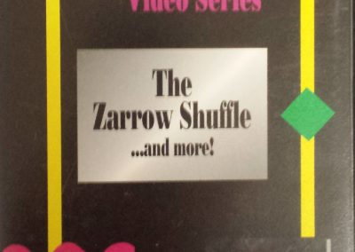 Private Lesson Video Series – The Zarrow Shuffle and more